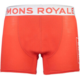 Mons Royale M's Hold 'em Folo Shorty Bright Red